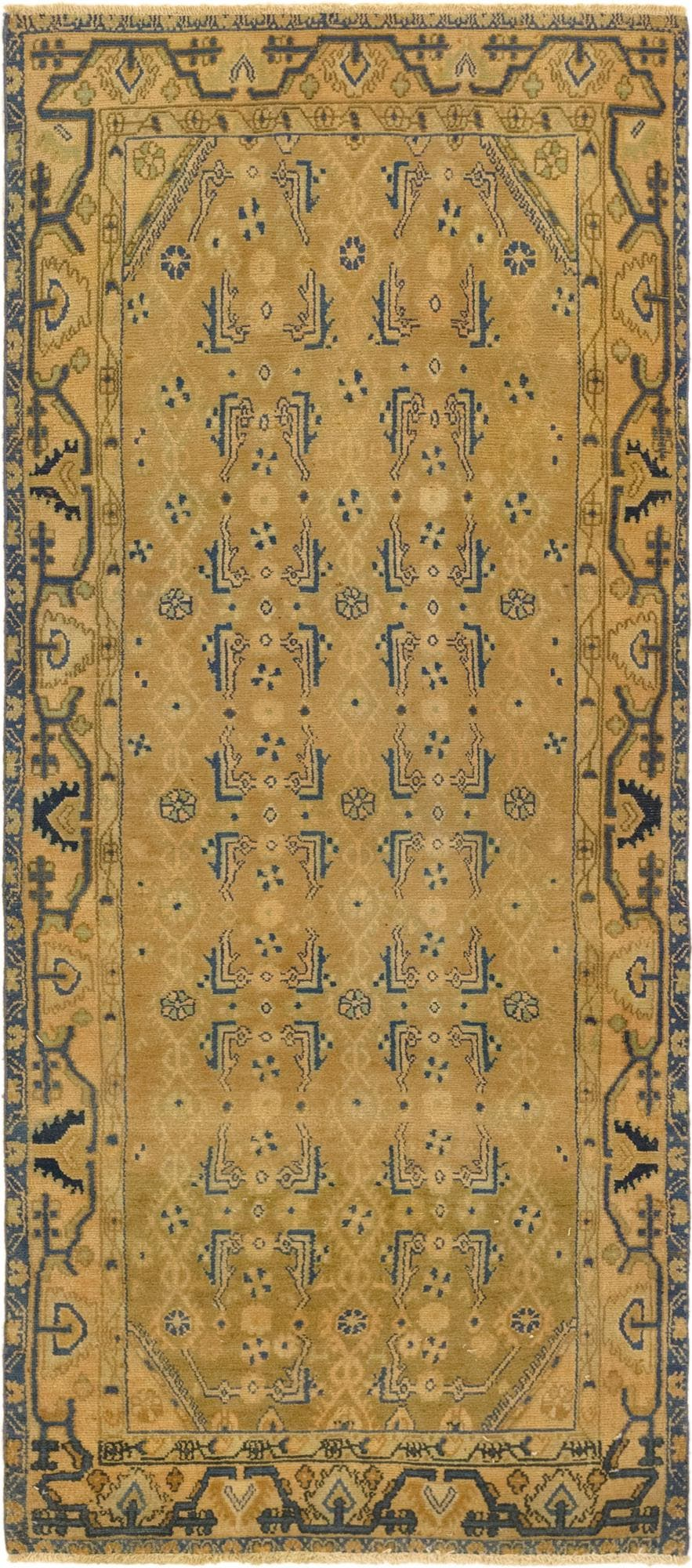 3' 8 x 8' 10 Ultra Vintage Persian Runner Rug main image