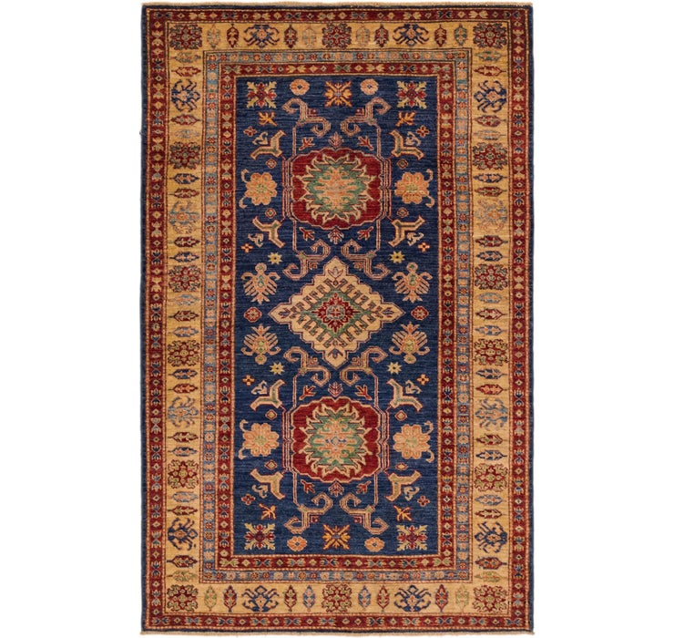 3' 11 x 6' 6 Kazak Oriental Rug