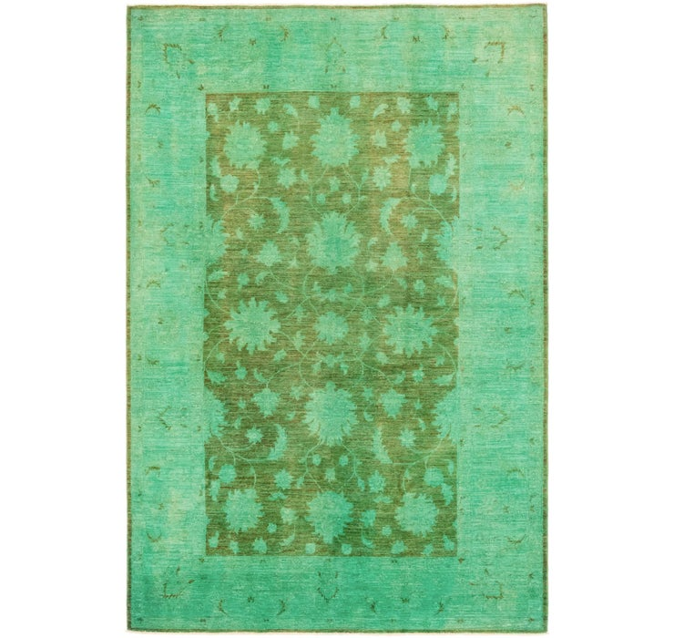 5' 6 x 8' 4 Over-Dyed Ziegler Rug