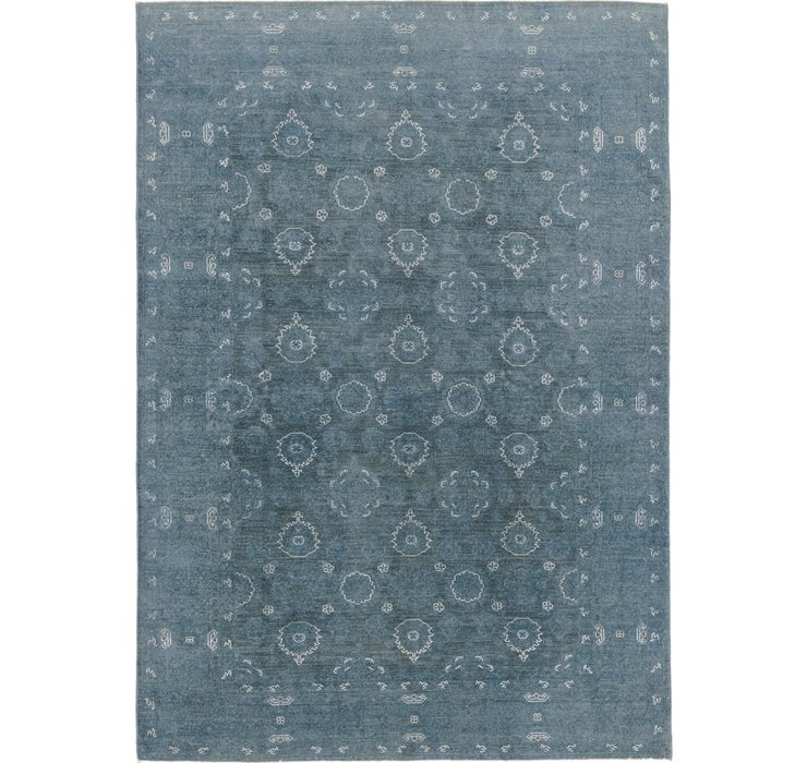 5' 9 x 8' 3 Over-Dyed Ziegler Rug