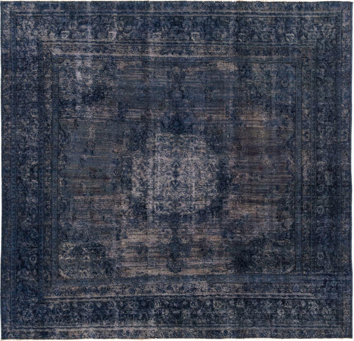 9' x 9' 3 Ultra Vintage Persian Square Rug main image