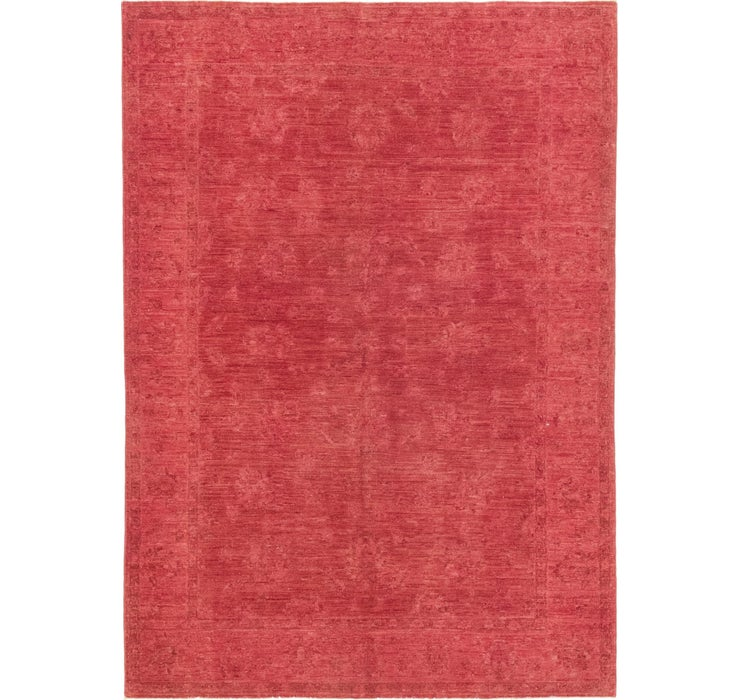 5' 4 x 7' 7 Over-Dyed Ziegler Rug