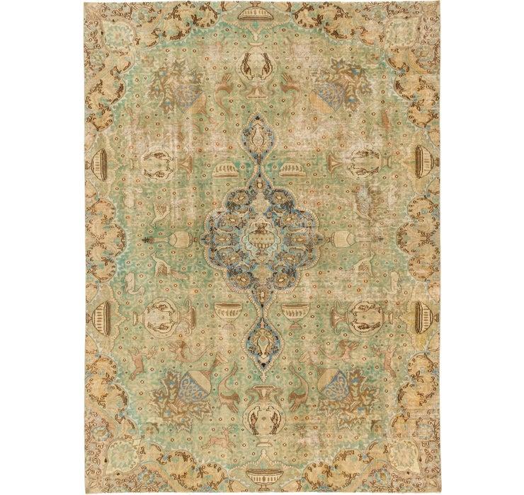 6' 8 x 9' 4 Ultra Vintage Persian Rug