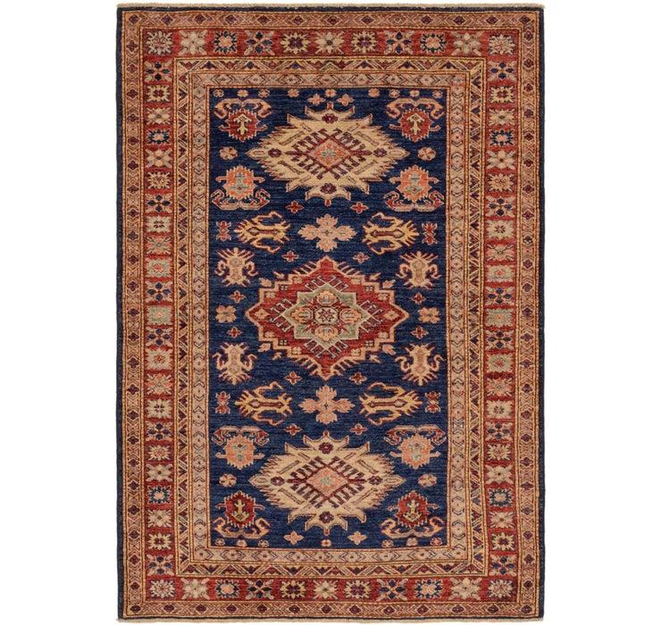 4' x 5' 8 Kazak Oriental Rug