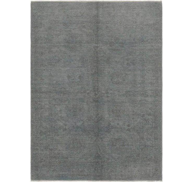 150cm x 205cm Over-Dyed Ziegler Rug