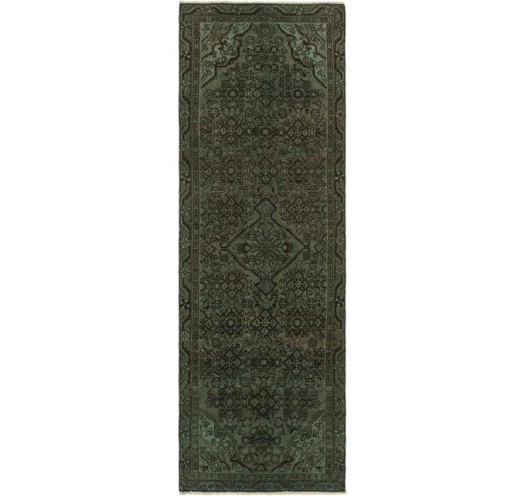 3' x 9' 11 Ultra Vintage Persian R...