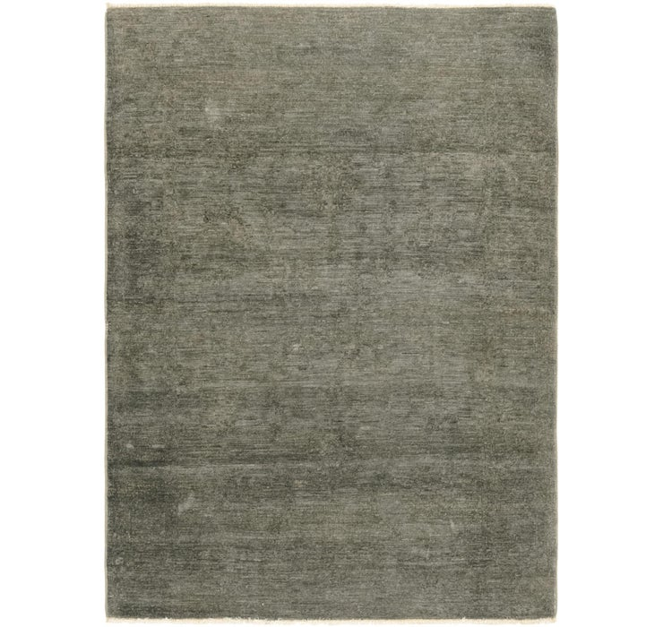 4' x 5' 5 Over-Dyed Ziegler Rug