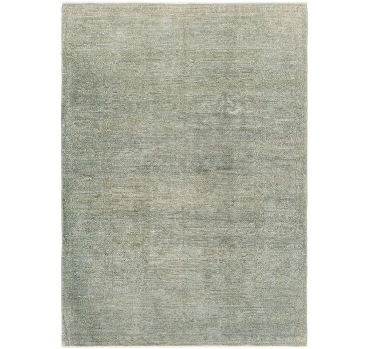 4' x 5' 7 Over-Dyed Ziegler Rug