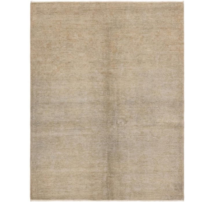 Image of 4' 8 x 6' 2 Over-Dyed Ziegler Rug
