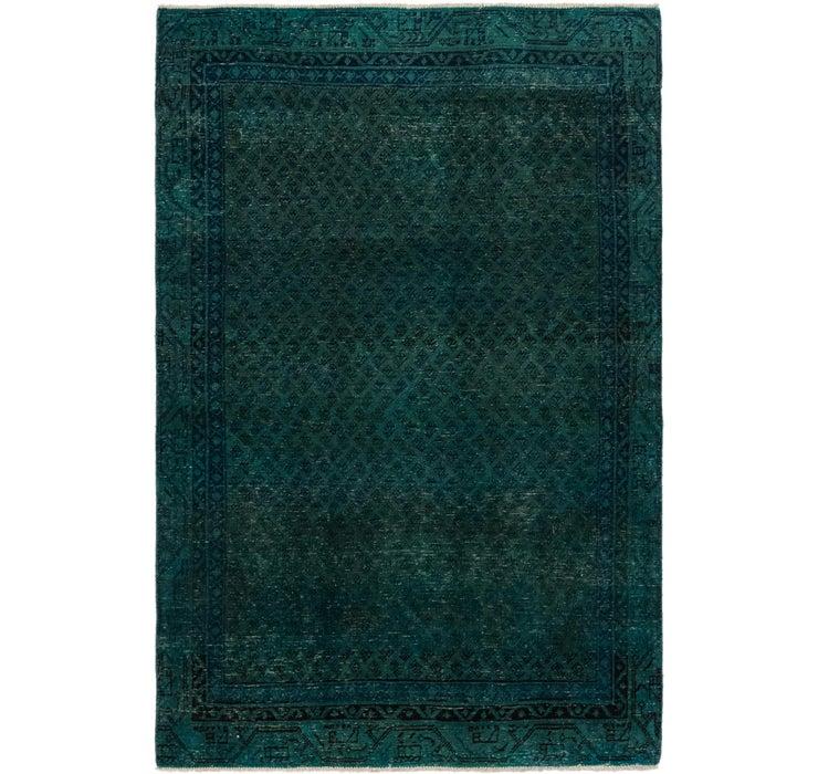 117cm x 180cm Ultra Vintage Persian Rug