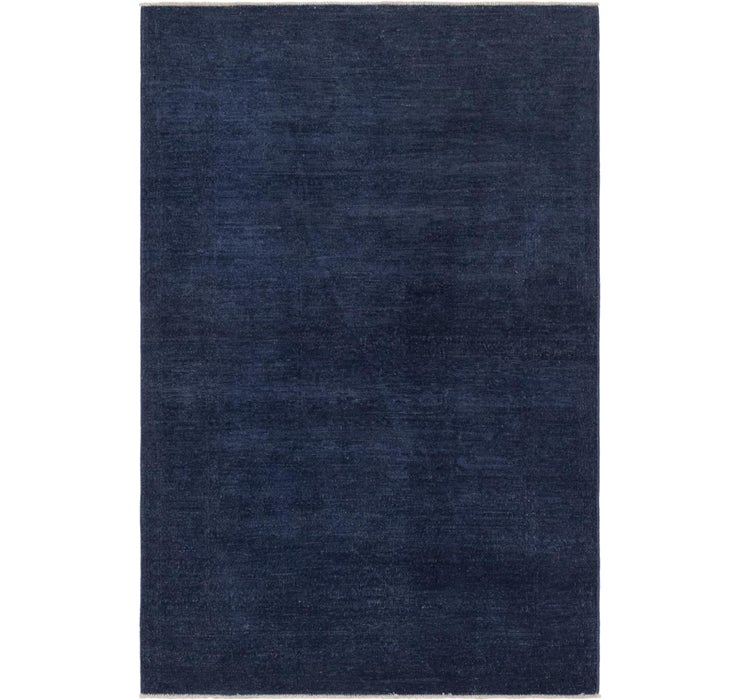 3' 11 x 6' Over-Dyed Ziegler Rug