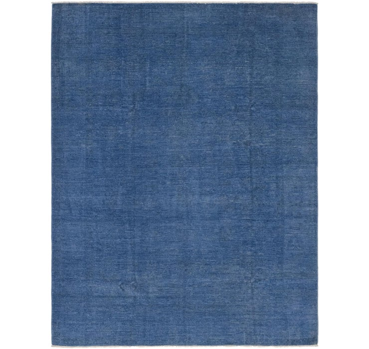 6' 1 x 7' 11 Over-Dyed Ziegler Rug