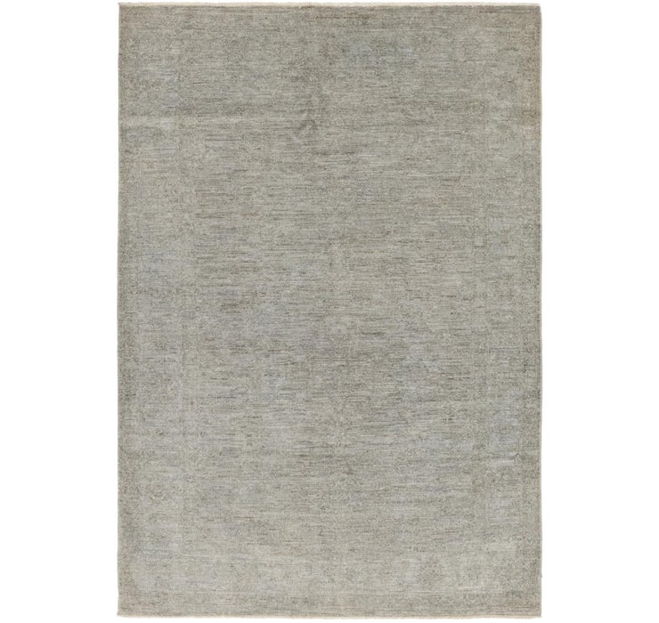 5' x 7' 4 Over-Dyed Ziegler Rug