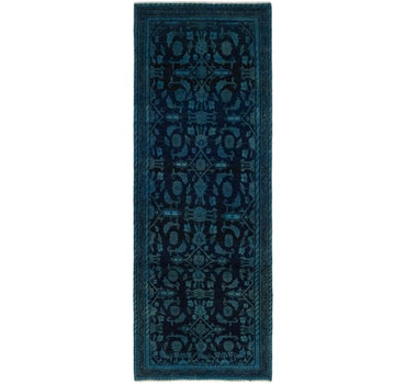 95cm x 267cm Ultra Vintage Persian Runner Rug main image