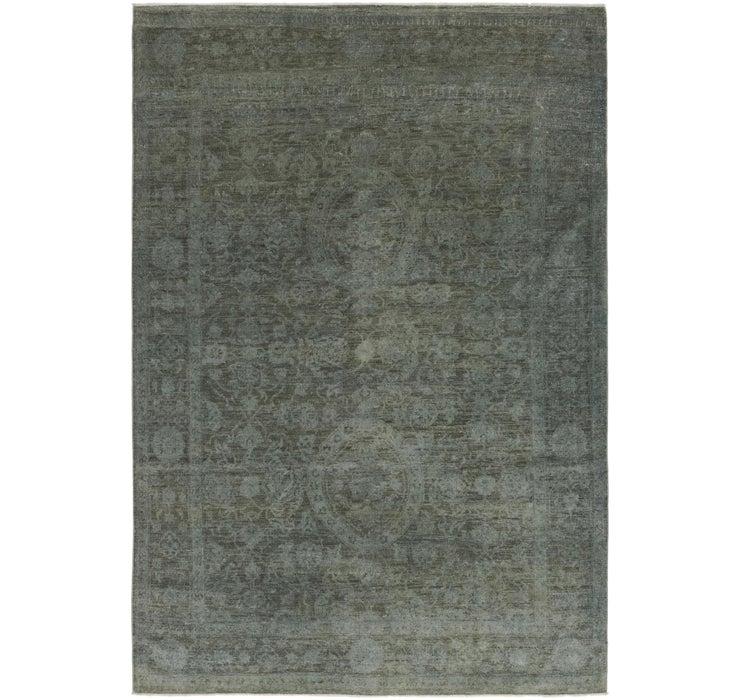 183cm x 270cm Over-Dyed Ziegler Rug