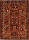 5' 6 x 7' 9 Peshawar Ziegler Oriental Rug thumbnail