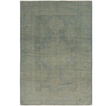 5' 7 x 7' 9 Over-Dyed Ziegler Rug main image