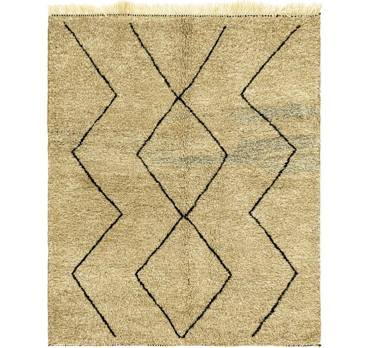 5' 7 x 6' 10 Moroccan Square Rug