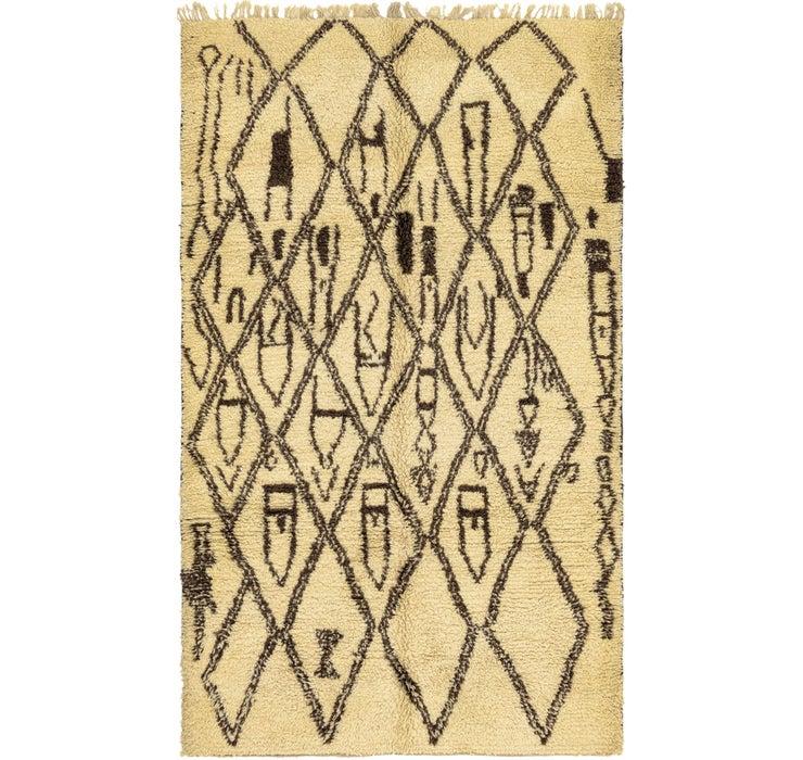 5' 6 x 9' 3 Moroccan Rug