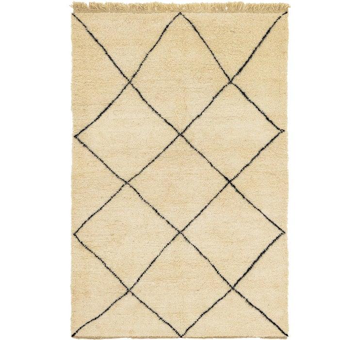 5' 5 x 7' 9 Moroccan Rug