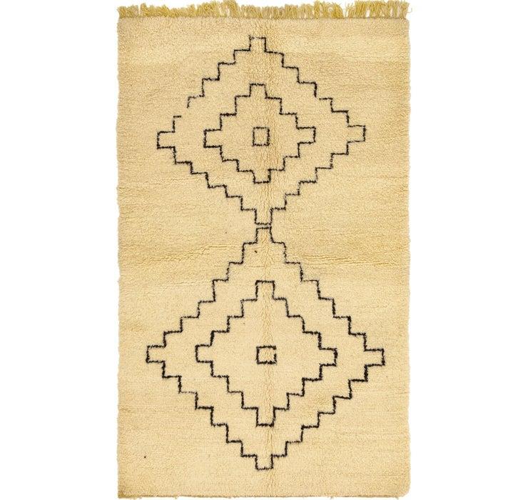 5' 3 x 8' 7 Moroccan Rug