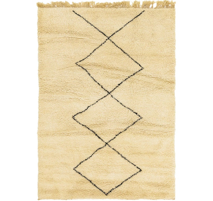 5' x 7' 2 Moroccan Rug