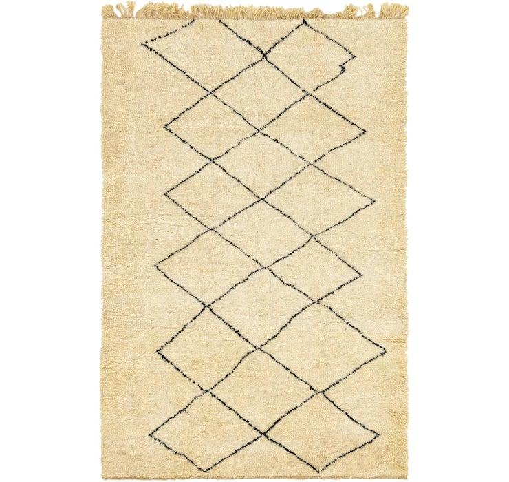 5' 9 x 8' 8 Moroccan Rug
