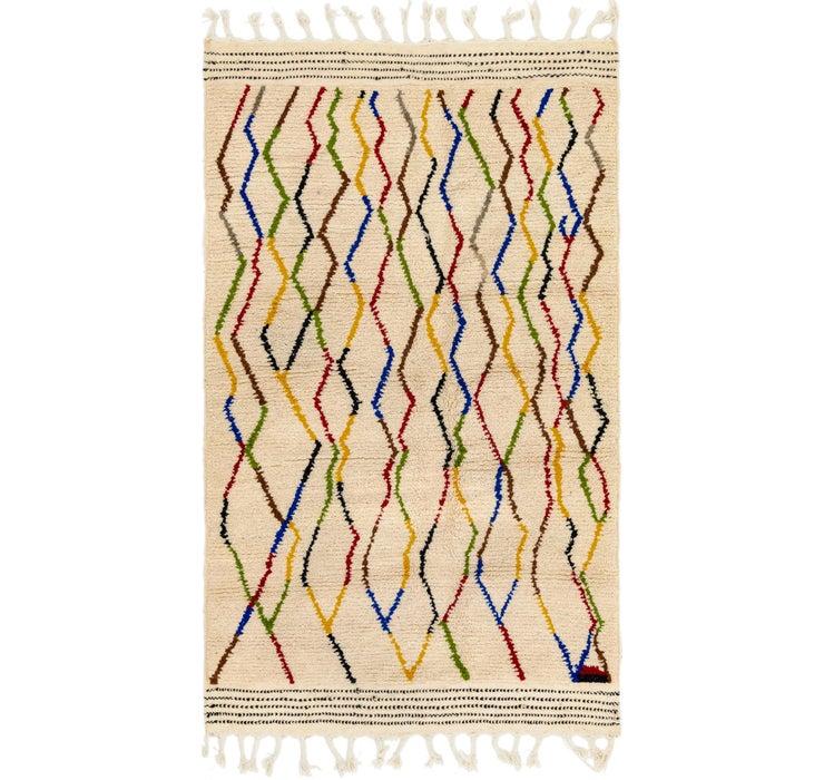 4' 8 x 8' Moroccan Rug