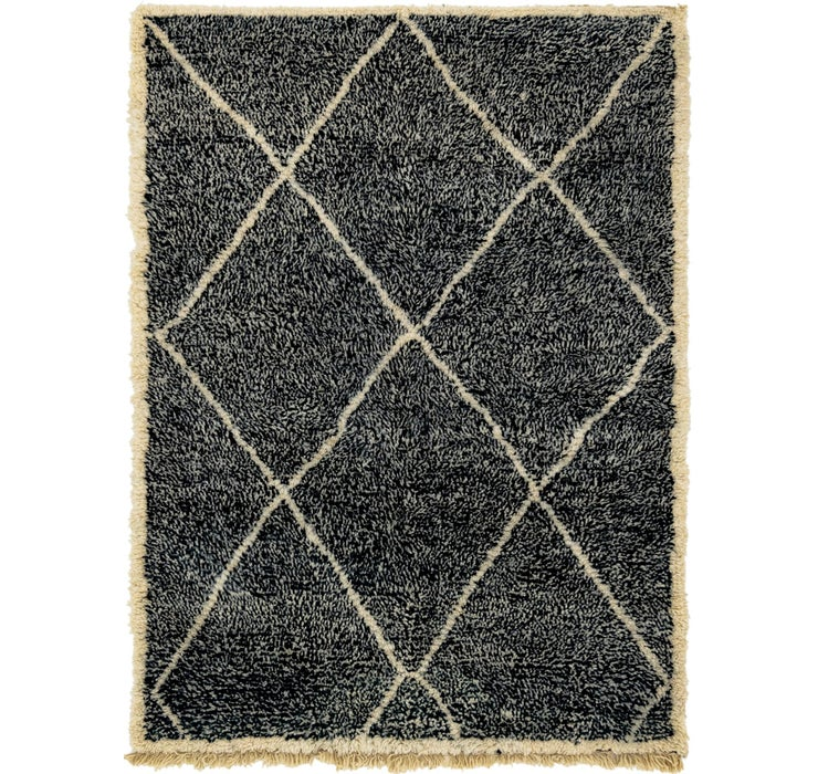 5' 6 x 7' 7 Moroccan Rug