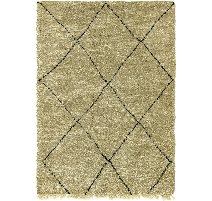 Image of 5' x 7' 5 Moroccan Rug