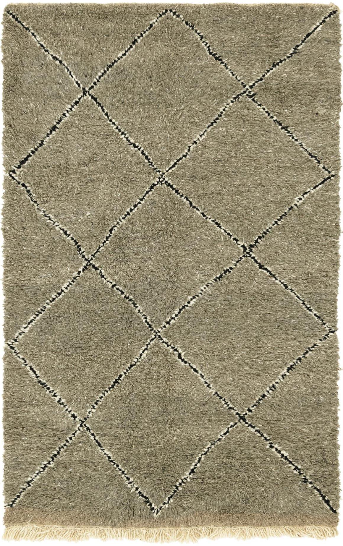 5' x 8' 3 Moroccan Rug main image