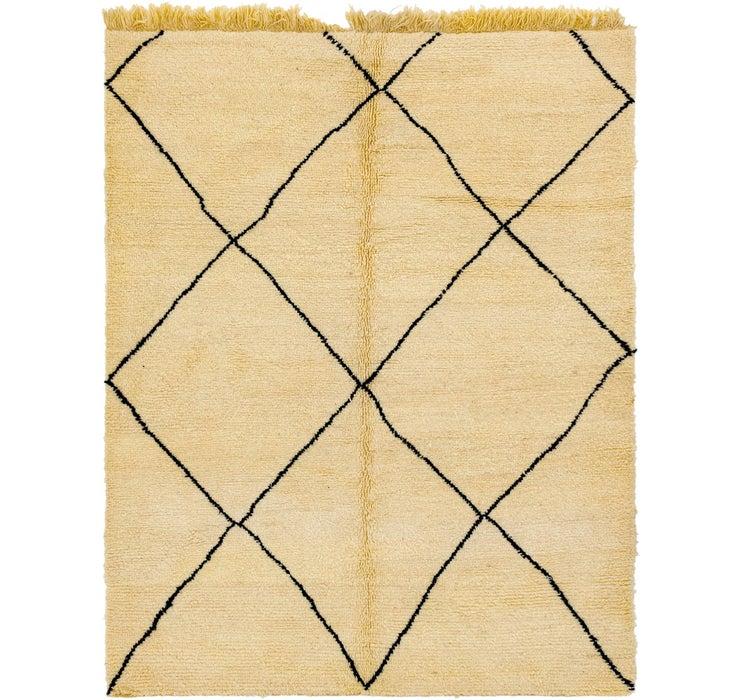 7' 1 x 9' 2 Moroccan Rug