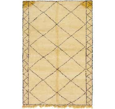 Image of 6' 7 x 10' 2 Moroccan Rug