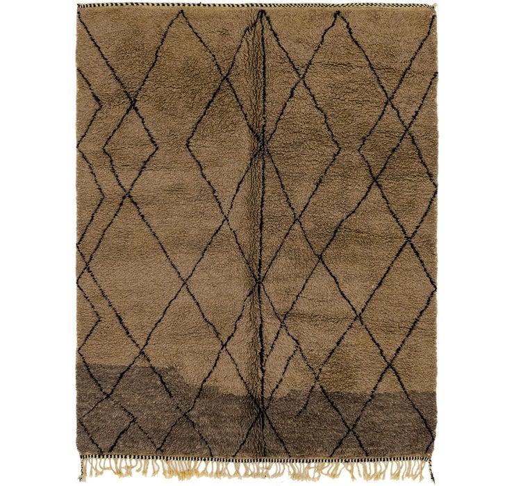 7' 3 x 9' 2 Moroccan Rug