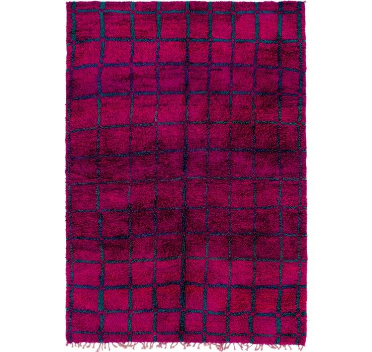 5' 10 x 8' 9 Moroccan Rug