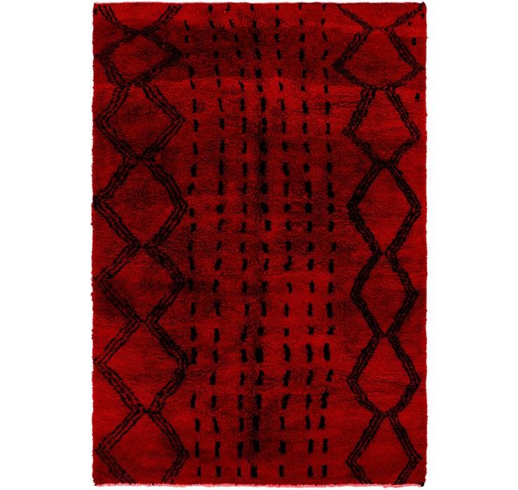 6' 6 x 9' 8 Moroccan Rug