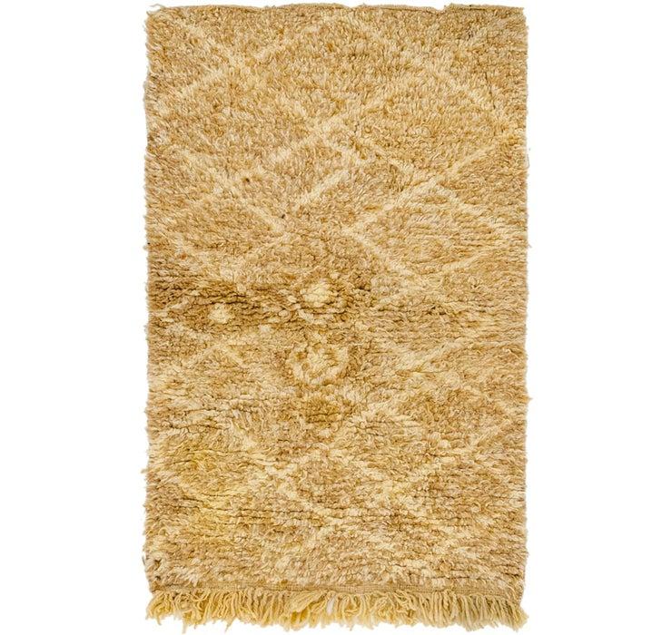 2' 11 x 4' 9 Moroccan Rug