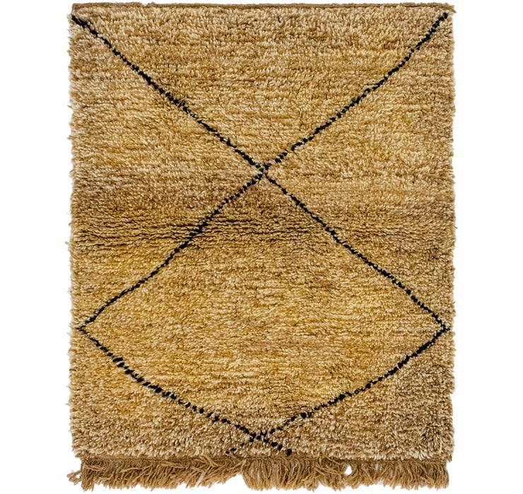 3' 4 x 4' 5 Moroccan Rug
