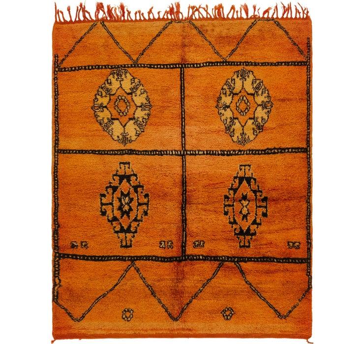 5' 9 x 6' 11 Moroccan Square Rug