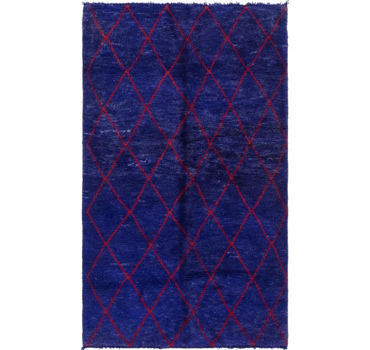 4' 11 x 8' 3 Moroccan Rug