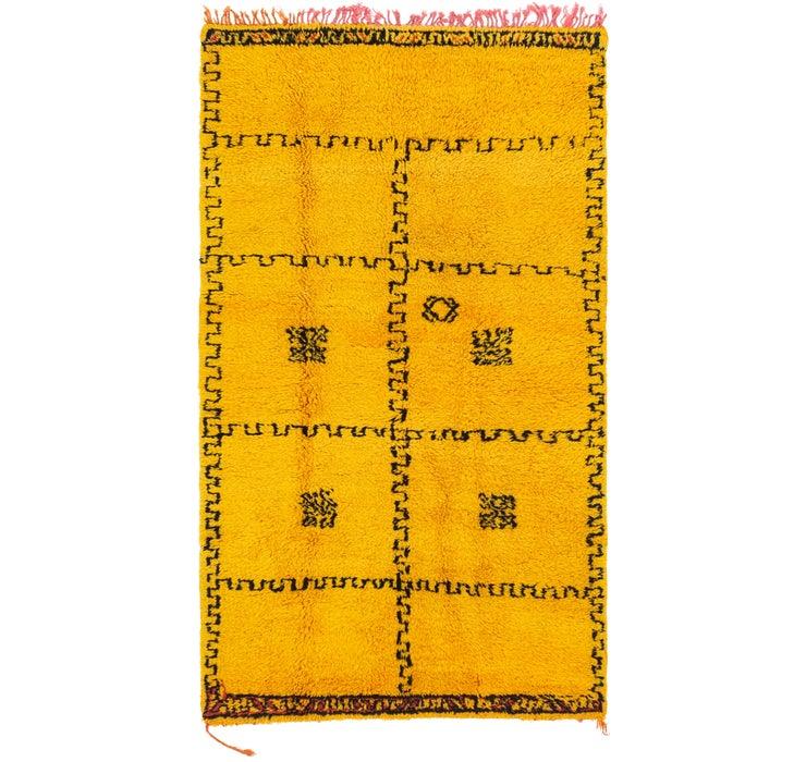 3' 11 x 7' 1 Moroccan Rug