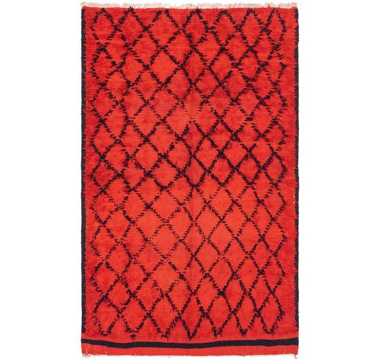 6' 5 x 10' 4 Moroccan Rug