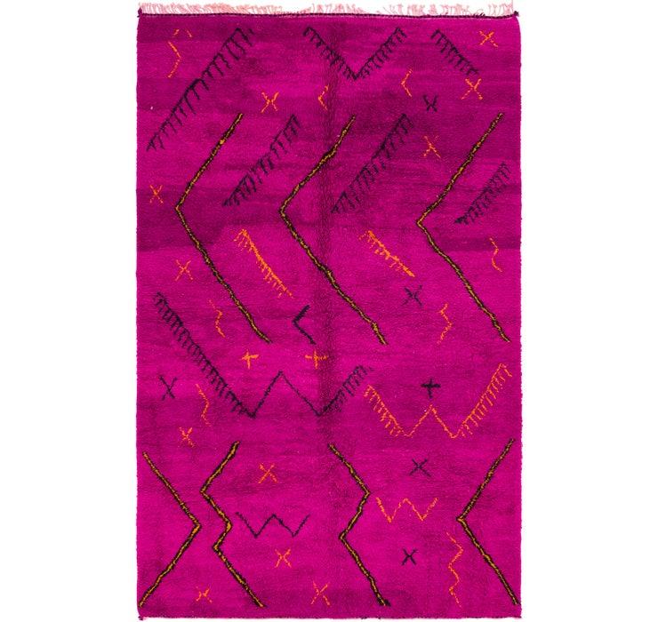 6' 9 x 10' 10 Moroccan Rug