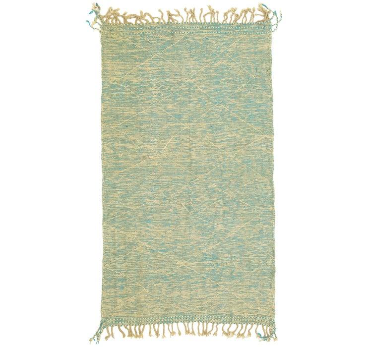 4' 9 x 8' 6 Moroccan Rug
