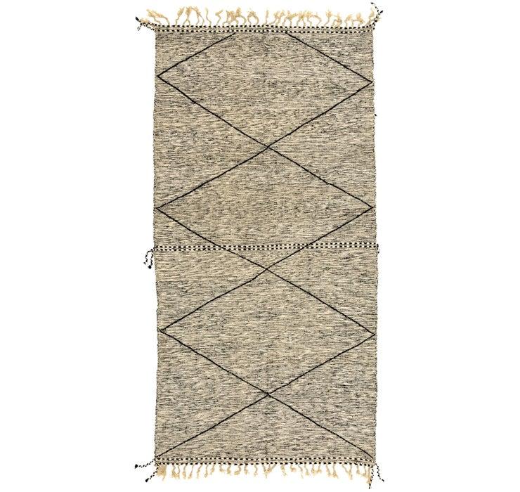 6' 7 x 12' 10 Moroccan Rug