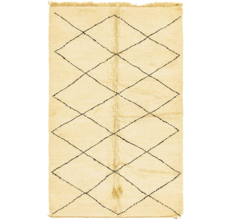 6' 5 x 10' 6 Moroccan Rug