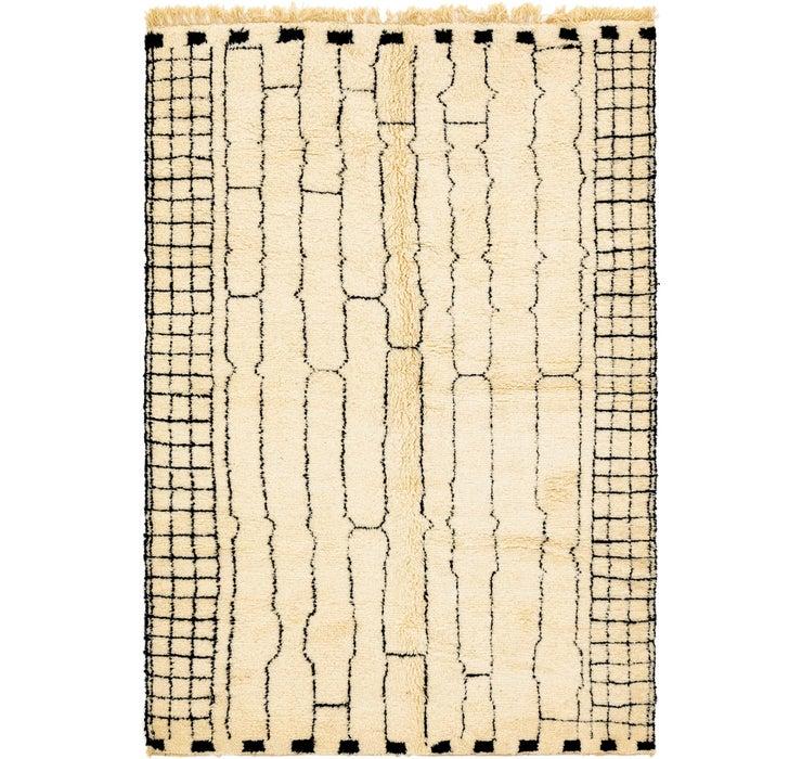 6' 9 x 10' 5 Moroccan Rug