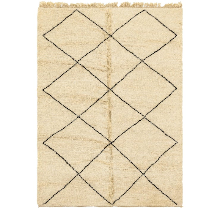 Image of 198cm x 285cm Moroccan Rug