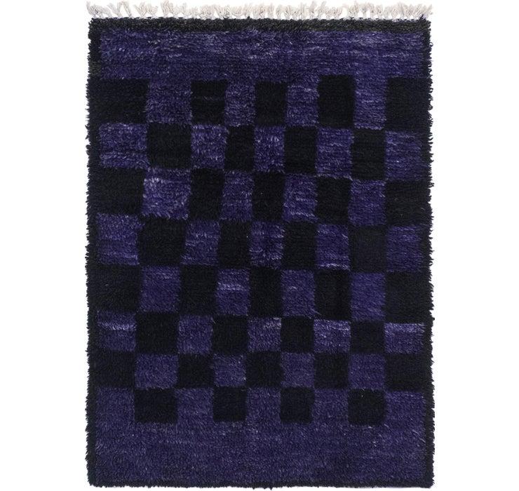 3' 4 x 4' 6 Moroccan Rug