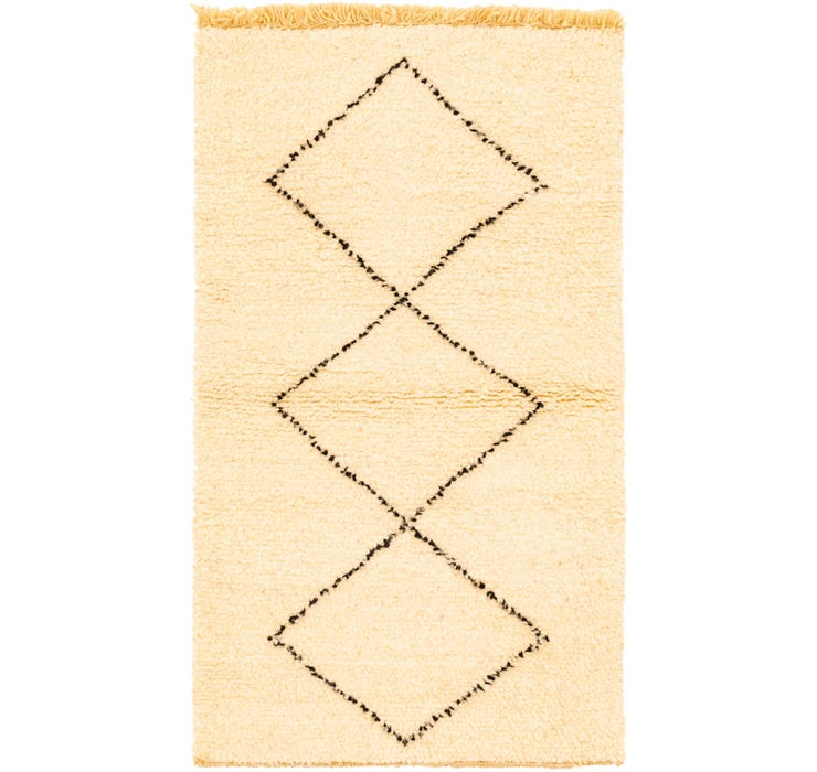 85cm x 142cm Moroccan Rug
